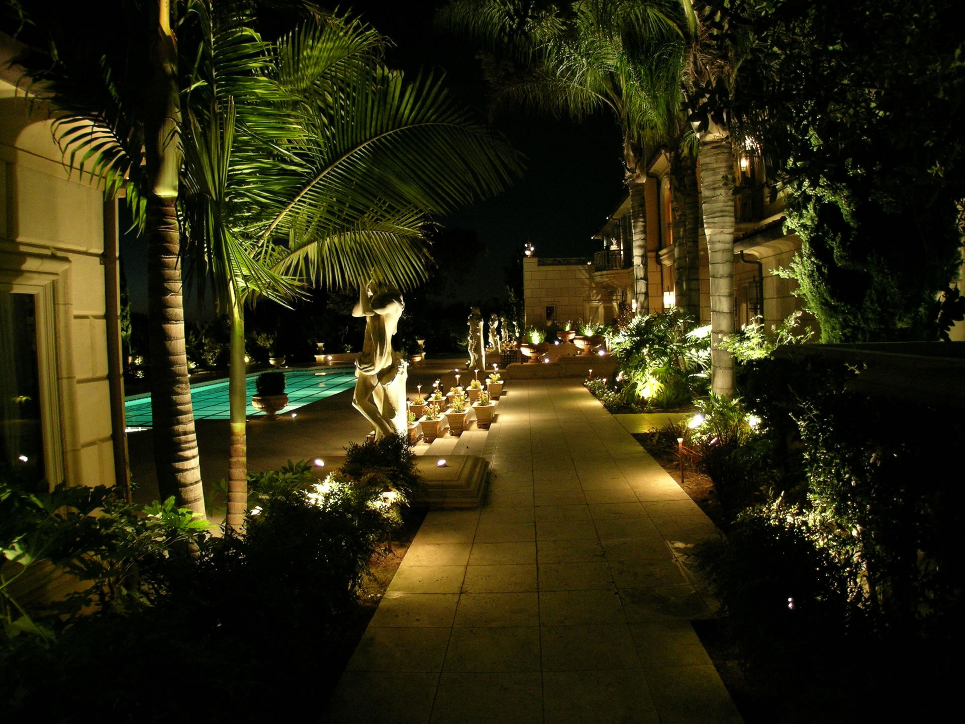 Santa Fe Landscape Lighting By Artistic Illumination